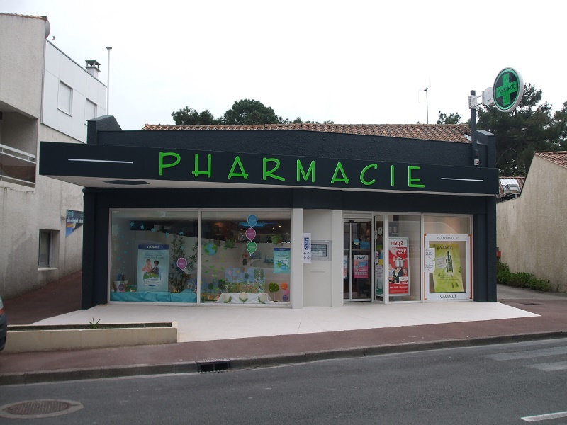 PHARMACIE BLOCK LED